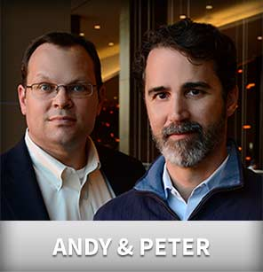 Peter and Andy